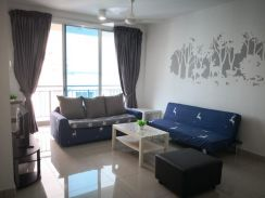 D ambience residences permas jaya 2 bedroom 10min to ciq