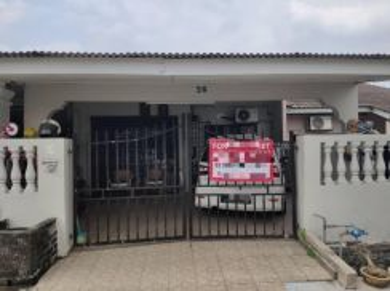 Renovated, 5 minutes to mrt, single storey landed house, taman kota ch