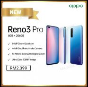 Oppo Reno 3 Pro 8GB 256GB