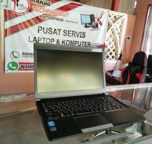 Laptop Toshiba Intel i3 4th Gen