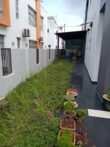 Ulu Tiram Taman Dato Chellam 2 storey Corner Can Full Loan
