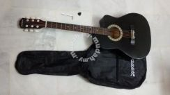 UK Acoustic Guitar 39 Inch (Black)