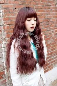 Wig Female Corn Ironing Long Scroll - LL493