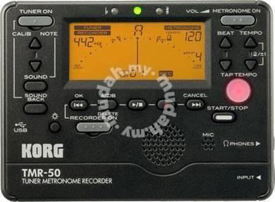 KORG TMR-50 - Guitar Tuner, Metronome & Recorder