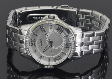Alba Ladies Swarovski Crystal Watch VJ32-X250WRSS