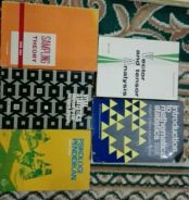 Buku Rujukan Fizik, Sains, Matematik dan berkaitan