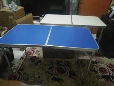 Picnic table 4x2 feet mudah lipat