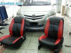 Semi Leather Seat Cover Toyota Vios Altis Camry