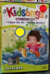 DVD Kidsongs Music Video Stories Vol.21&22