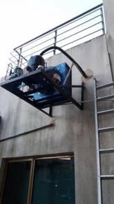 Perkhidmatan membaiki peralatan elektrik