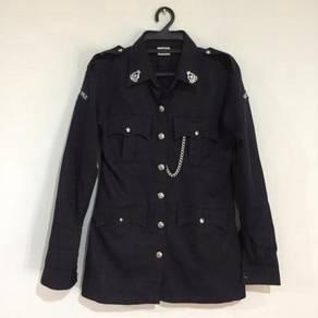 Baju seragam kadet polis