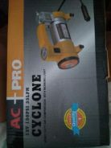 Portable air compressor or