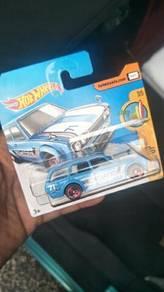 Hotwheels Datsun 510 Wagon Short Card