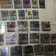 Cardfight vanguard bladewing full deck