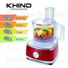 Khind Food Chopper FPC500 2 Speed pulse-New in
