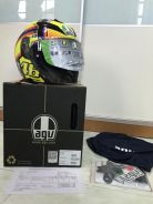 Helmet AGV K5 Jet Soleluna Valentino Rossi