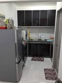 Harmony view - corner unit - jelutong
