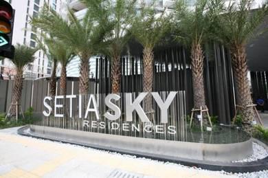 Setia SKY Residences Largest Unit KLCC View 3 Parking 200k Below MV