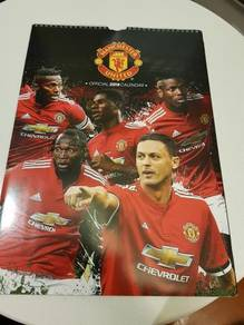 Manchester United Official 2018 Calendar