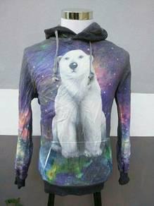 Sweatshirt Hoodie Bear Fullprint
