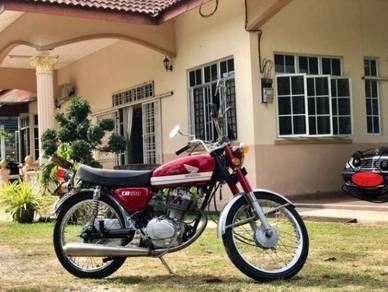 Honda CB100 Moto Klasik Classic