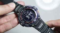 READY STOCK Casio SGW100-2B Twin Sensor Digital co