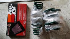 Mini cooper s r53 super charger k&n filter
