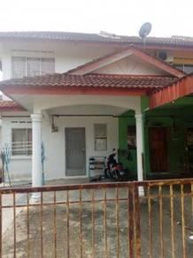Double storey house at Taman Merdeka Batu Berendam