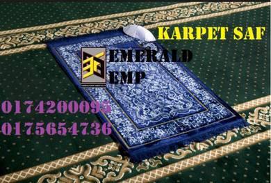 Karpet surau carpet saf masjid bumiputera