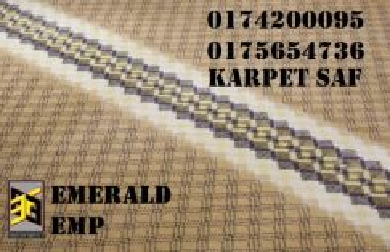 Carpet surau karpet masjid perlis