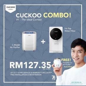 Penapis air cuckoo Iris + c model good combo