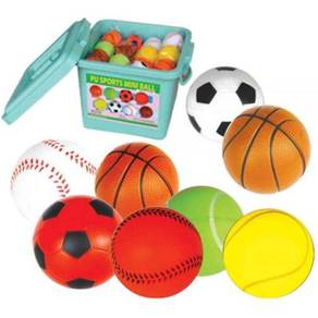 PU Sports Mini Balls 48 Units (ITSP-011)