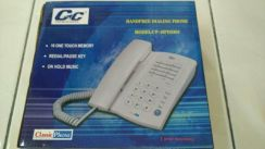 Gc special home telephone.-hand free dial speaker