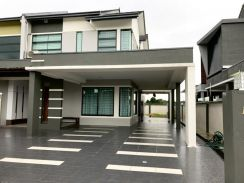 Stapok Double Storey Semi-D at Regent Heights