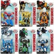 Transformers Robots in Disguise 13cm toys 6pcs set