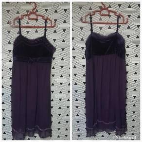 Mini Dress (Purple)