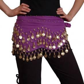 Belly Dance Indian Dance Coins Waist Belt