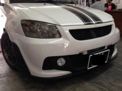 Saga blm neo r3 bodykit bumper pu with paint