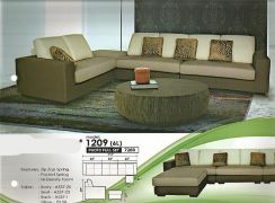Modern l-shape sofa-81209
