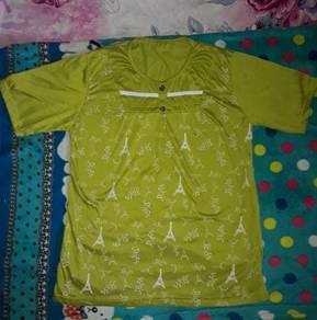 Green colour tshirt