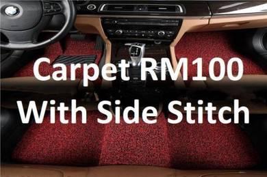 Carpet tinted lancer triton storm evo10 attrage 10