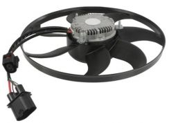 New big radiator fan for new beetle 2010 (1.6cc)