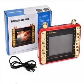 Mp4 Player Audio Music Movie Cinema Pendrive Memor