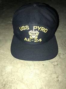 USS PYRO AE-24 Snapback 80s