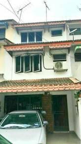 Rumah 3 tingkat, Taman Sri Sinar, Segambut (dengan private garden)
