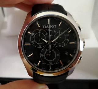 Tissot Couturier Chronograph Quartz Watch