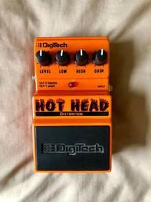 Digitech Hot Head Distortion Pedal