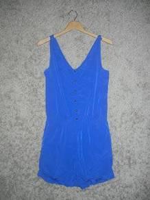 Jaker 44 MANGO COLLECTION blue ladies jumpsuit