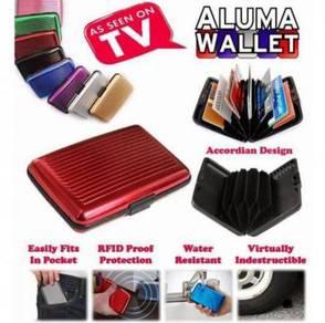 Aluma Security Wallet Card Holder
