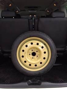 Spare Tyre Toyota Estima Alphard Vellfire Harrirer